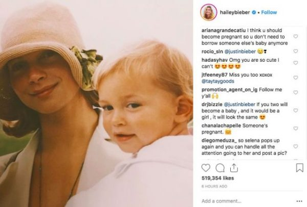 Детей слух: жена Джастина Бибера беременна |