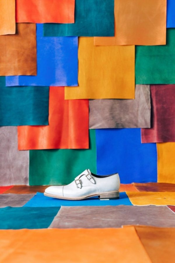 Проект Santoni и Симона Браманте «Tales of Colours» — необычно о создании обуви |