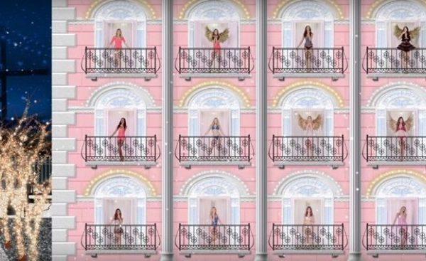Праздничные ангелочки Victoria's Secret |