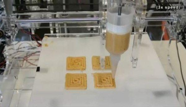 3 D-принтер отправится покорять кухню |